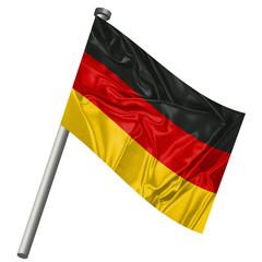 Stecknadel mit Flagge Deutschland