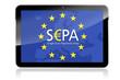 Tablet mit SEPA