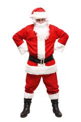 Happy traditional Santa Claus. Christmas