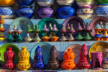 Moroccan traditional ceramics