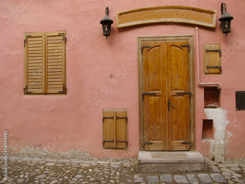 Colorful houses of Sighisoara