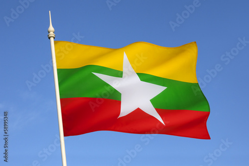 Flag of Myanmar (Burma)