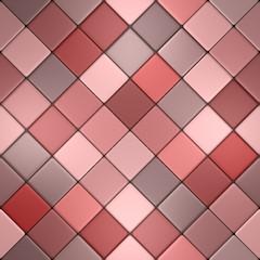 Red vintage mosaic