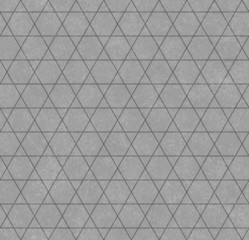 Gray Hexagon and Triangle Patterned Textured Fabric Background