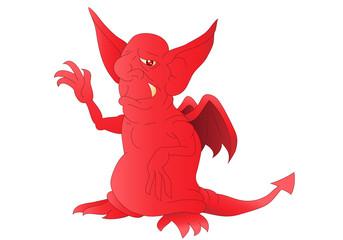 red satan