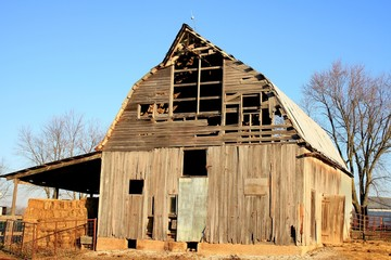 Old barn in Missouri