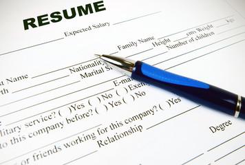 application paper form
