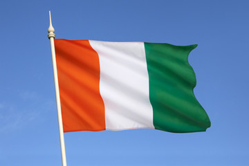 Flag of Ivory Coast - Cote d'Ivoire