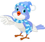 Cute Winter Bird