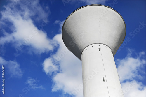 Aluminium Kanaal Water Storage Tower