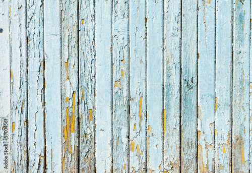 Vintage Blue background wood wall, concept