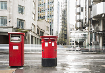 English style mailboxes