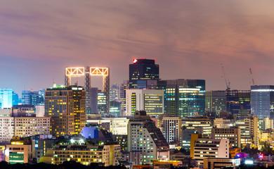 Myeongdong in Seoul city
