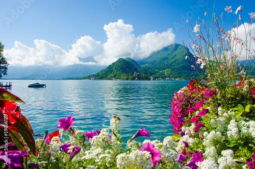 Papiers peints Lac / Etang Landschaft Annecy See