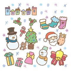 クリスマスの素材