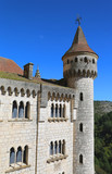 Episcopal palace in Rocamadour, France