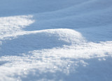 snowfield curvy surface