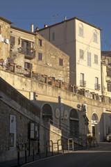 Uno scorcio di Manciano, in Maremma Toscana