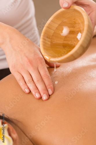 Body Massage With Oil