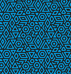 Seamless geometric vector pattern background
