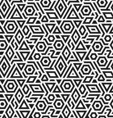 Seamless geometric vector pattern background