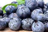 Blueberries.Blue fruits background.