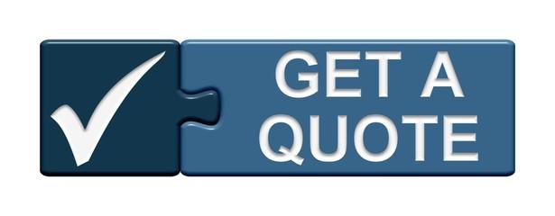 Puzzle-Button blau: Get a quote
