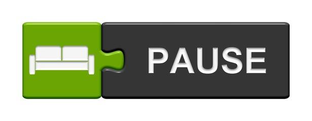 Puzzle-Button grün grau: Pause