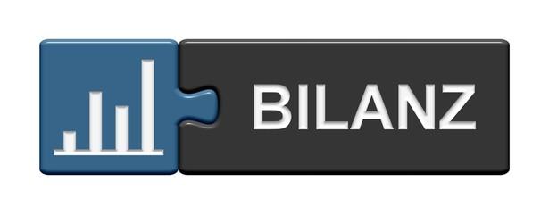 Puzzle-Button blau grau: Bilanz