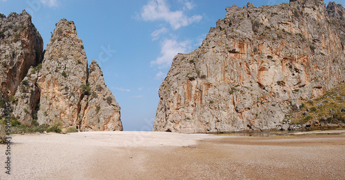 canvas print picture Mallorca Torrent de Pareis