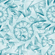 Seamless ice pattern. Vector illustration - EPS 10