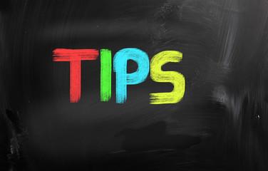 Tips Concept