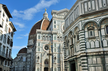 Firenze - Piazza del Duomo e Battistero