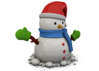 Snowman - 3D