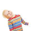 Portrait von einem glücklichen Kind