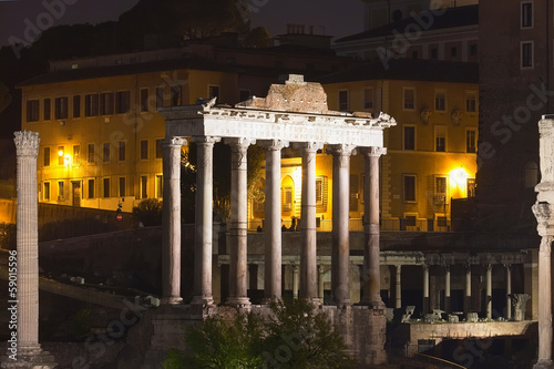 Staande foto Athene Roman Forum