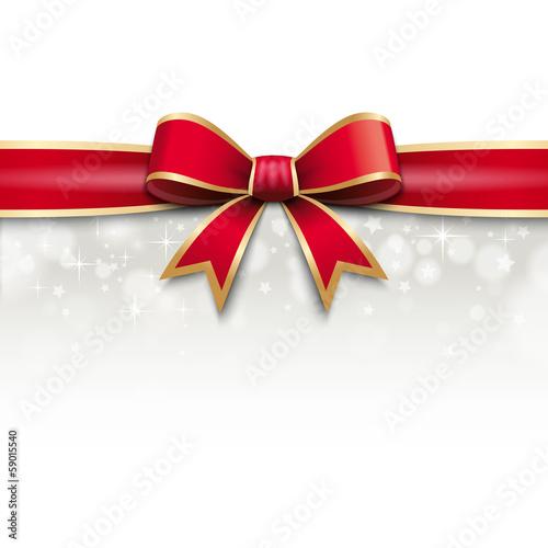 d cor cadeau ruban rouge no l nouvel an anniversaire fichier vectoriel libre de droits. Black Bedroom Furniture Sets. Home Design Ideas