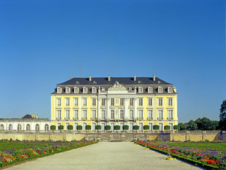 The Augustusburg Palace in Brühl near Cologne, Germany. UNESCO