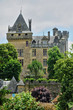 France, middle age castle of Montfort in Dordogne