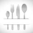 food utensils illustration design