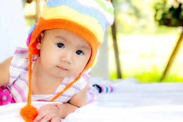 Baby Cute Baby Girl Portrait