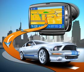 Navigationssystem Auto, Routenplaner