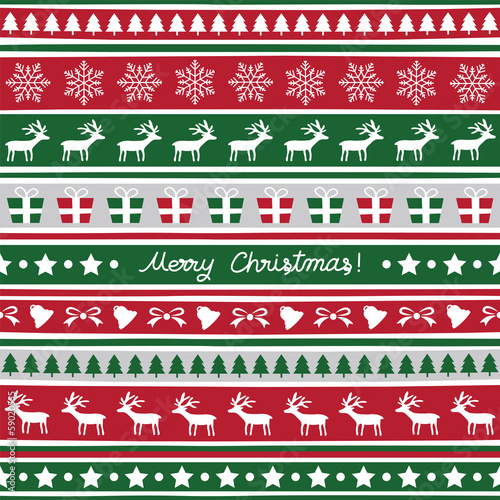 Seamless Christmas background8