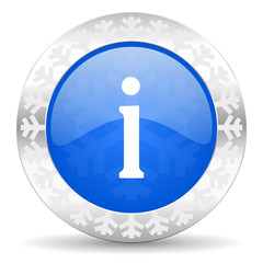 information christmas icon