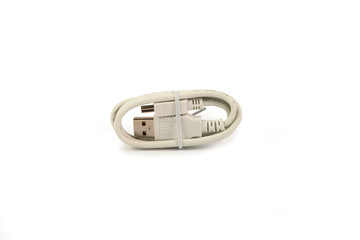 USB extension cable isolated