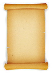 Old Textured Parchment Scroll