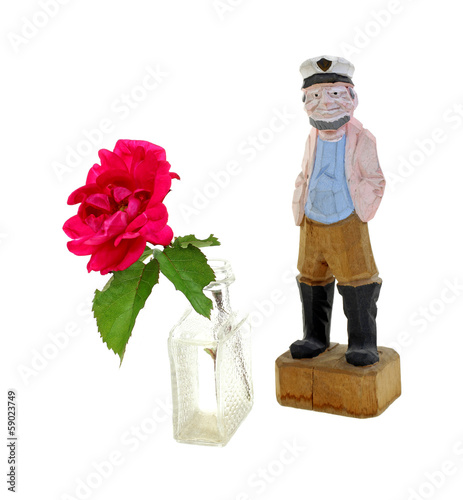 Rose Carved Seaman