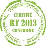 tampon certifié conforme rt 2013 poster