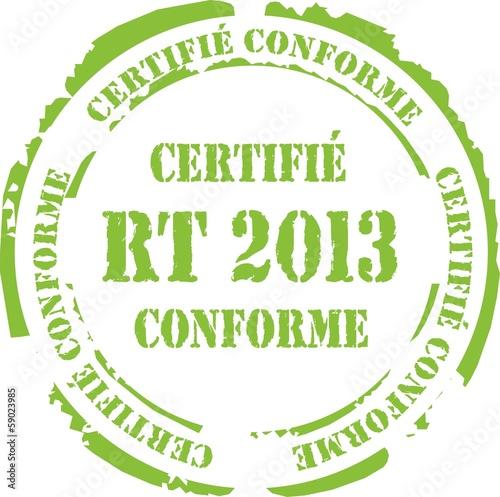 poster of tampon certifié conforme rt 2013