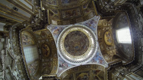 NAPLES, ITALY - Church of Santi Apostoli